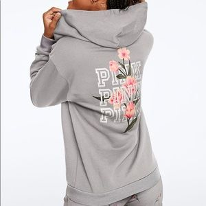 *NWT* VS PINK Everyday Lounge Perfect Full-Zip